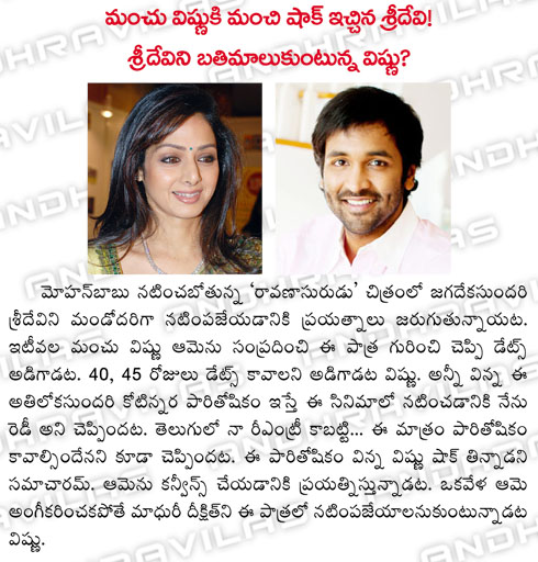 manchu_vishnu_ki_manchi_shock_ichina_sridevi_sridevini_batimalukuntunna_vishnu.html